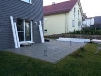 Aussenanlagen - Terrassenanbau - Terrassenüberdachung - Geislingen